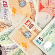 Stock Photo: Pounds background