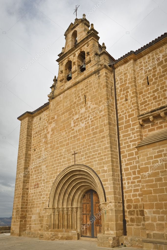 Ermita del Santo Cristo, Labastida, Alava, Spain — Stock Photo #6339120
