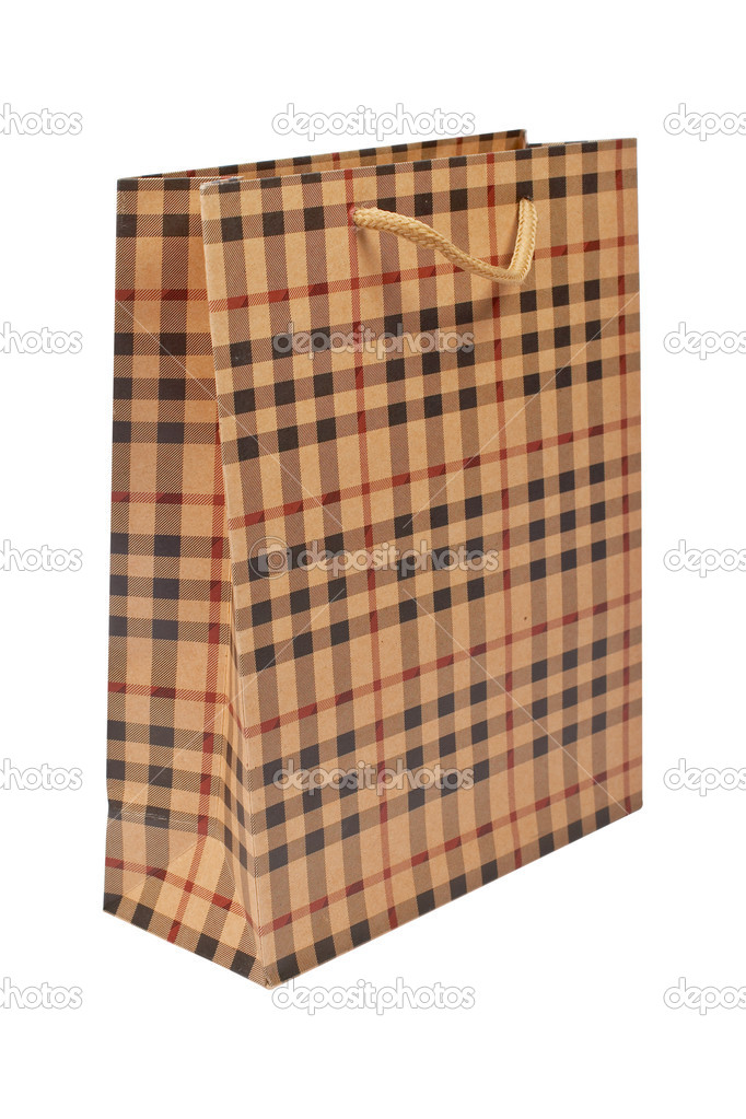 A shopping bag, isolated on white background — Stock Photo #6339672