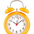 Stock Photo: Yellow alarm clock