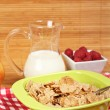 Stock Photo: Cereals for healthy breakfast