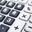 Calculator keyboard detail — Foto Stock