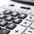 Calculator keyboard detail - Foto Stock