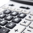 Calculator keyboard detail - Stock Photo