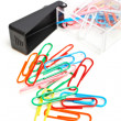 Colorful paper clips - Lizenzfreies Foto