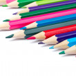 Assortment of coloured pencils — Stock Photo #6341689