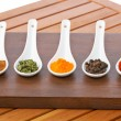 Spices background — Stock Photo #6341702