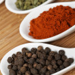 Stock Photo: Spices background