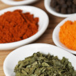 Spices background — Stock Photo #6341760