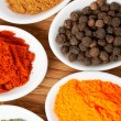 Spices background - Stockfoto