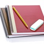 Pencil and eraser — Stock Photo