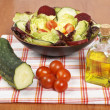 Mediterranean salad — Stock Photo #6341875