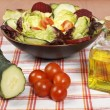 Mediterranean salad — Stock Photo #6341876