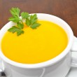 Carrots puree with parsley — Stock Photo #6342080