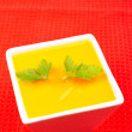 Carrots puree with parsley — Stock Photo