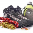Stock Photo: Climbing gear
