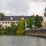 Seeschloss Ort, Gmunden, Austria — Stock Photo