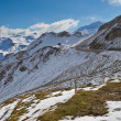 Grossglockner high alpine road - Stock Photo