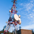 Telecommunications tower — Stock Photo #6345003