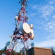 Telecommunications tower - Stock Photo