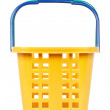 Empty shopping basket — Stock Photo