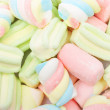 ������, ������: Multicolored marshmallows background