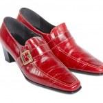 sapatos de senhora — Foto Stock