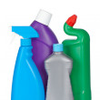 Detergent bottles — Stock Photo #6345461