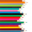 Assortment of coloured pencils — Stock Photo #6345921