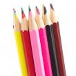 Assortment of coloured pencils — Stock Photo #6345924