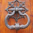 Old door knocker - Stock Photo