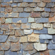 Close up of slate roof tiles background — Stock Photo #6346086