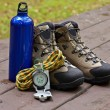Climbing gear — Stock Photo #6347216