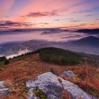 Mountains over the fog — Stock Photo #6347395