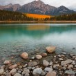 Patricia Lake and Pyramid Mountain — Stock Photo #6347491