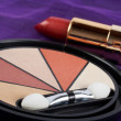 Detail of assortment of makeups — Stock Photo #6347741