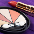 Detail of assortment of makeups — Stock Photo #6347743