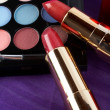 Detail of assortment of makeups — Stock Photo #6347747