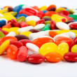 Detail of colorful sweets background — Stock Photo