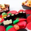 Detail of colorful sweets background — Stock Photo #6347827