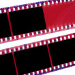 Film strip — Stock fotografie