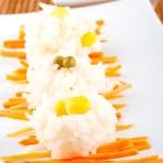 sallad med ris — Stockfoto #6347989