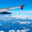 Aerial view from airplane — Stock Photo #6348161
