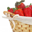 Basket of strawberries - ストック写真