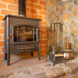 Fireplace — Stock Photo #6348782