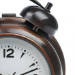 Partial view of alarm clock — Stock Photo