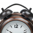 Stock Photo: Partial view of alarm clock