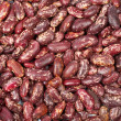 Background of raw beans - Stock Photo