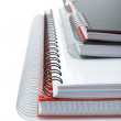 Stock Photo: Some notebooks