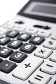 Calculator keyboard detail — Stock Photo